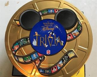 Disney Trivia Pursuit game