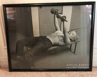 Iconic Marilyn Monroe wall art