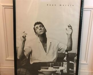 Iconic Dean Martin Wall art