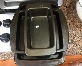 Heavy duty KitchenAid baking pans