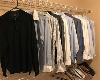Jos. A. Banks men's dress shirts
