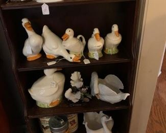 Front room:  Geese and Ducks galore!