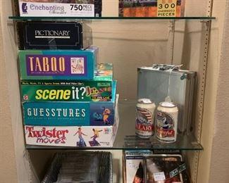 Den: Puzzles, Games, CDs, xBox Games