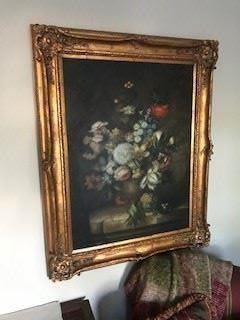 """Framed Oil Painting ===> $500 / OBO                                           Dimensions: 40"""" W x 52"""" H"""
