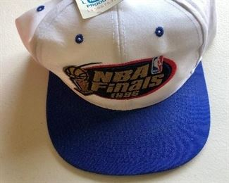 NBA Finals 1996 hat with tag attached.