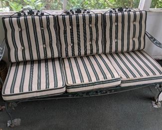 Vintage Metal Patio Furniture(Floral Design)