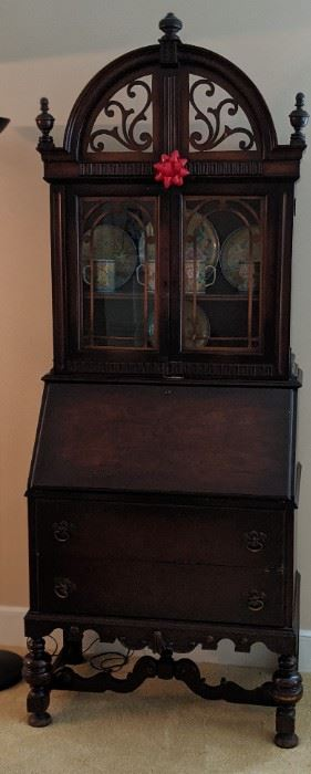Antique Mahogany Secretary