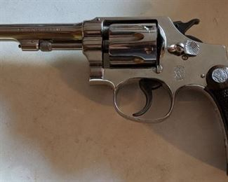 1914 Smith & Wesson 32 Long Hand Ejector Revolver(Permit or Copy of  CCW Required for Purchase)