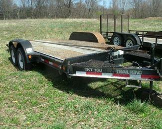 tilt deck trailer