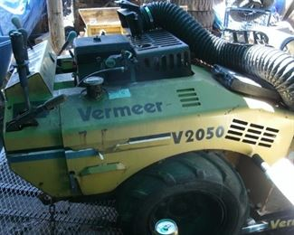 Vermeer trencher and trailer-runs great