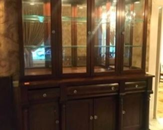 """$895 Thomasville sideboard Country Roads line69""""L x 22""""W x 88""""H x"""
