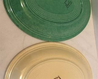 Back of small platters