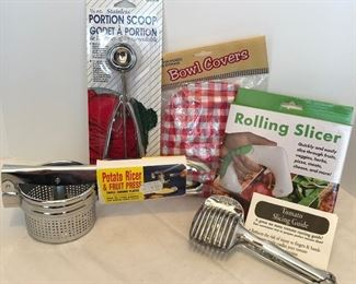 Lot #59, More new kitchen must haves, $12