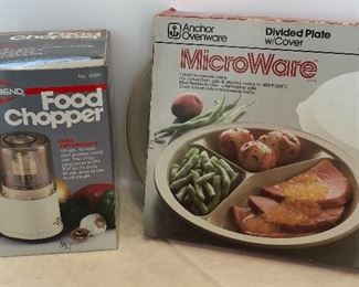 Lot #62, Two new kitchen items, $12