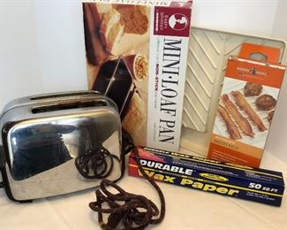Lot #68, Toaster, etc..., $12/all