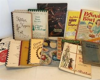 Lot #99, Cook books, $32/all