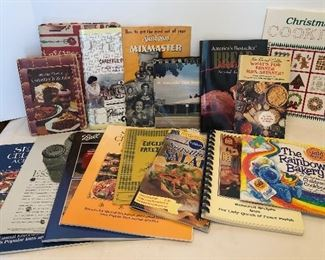 Lot #100, Cook books, $22/all