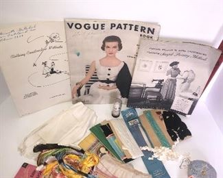 Lot #121, Vintage Sewing, $10/all