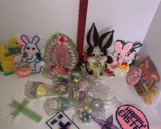 Lot #150, Easter decor, $10/all