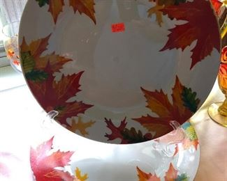 DINNER PLATES FOR AUTUMN