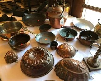 COPPER COOKWARE & MOLDS