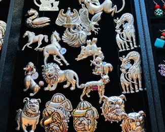 ANIMAL PINS & PENDANTS