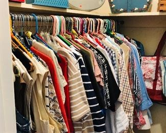 CLOSET FULL OF $2.00 CLOTHING