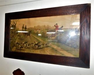 I believe its an early print. Nice frame. Clean