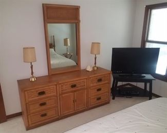Dixie bedroom set, 5 pc, available for presale @ $595
