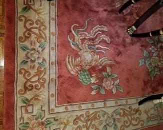 2 very nice Oriental styled rugs.