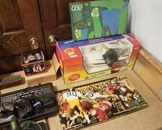 Vintage Atari, games, rc boat