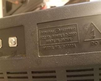 General Electric  Shortwave radio