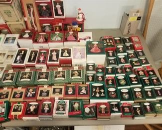 HUGE collection of Hummel / Lenox, and more Christmas ornaments - available for presale @ $300
