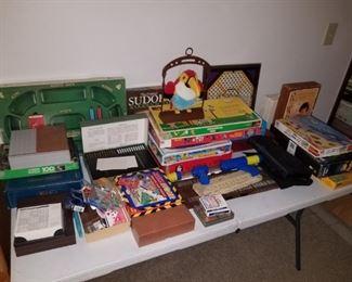 vintage games, puzzles