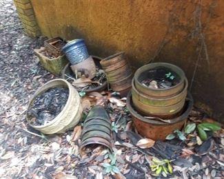misc clay pots
