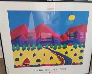 Cherry Creek Arts Festival framed art