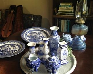 Miscellaneous blue & white selections