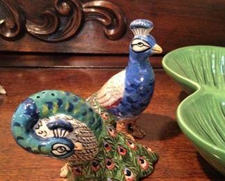 Peacock salt & pepper
