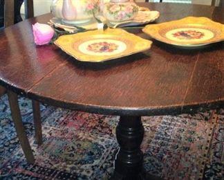 Antique tilt table
