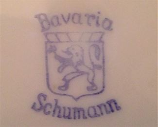 Schumann plates from Bavaria in Germany
