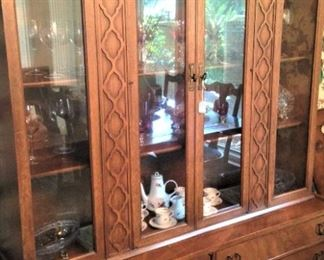 China cabinet - great display and storage areas