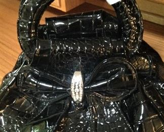 Black dress purse