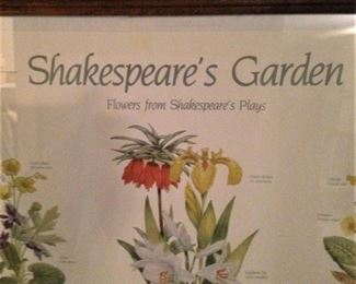 Flowers from Shakespeare's Plays