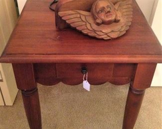 Nice size side table