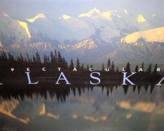 """Coffee table book on """"Spectacular Alaska"""""""