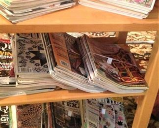 Quilting magazines