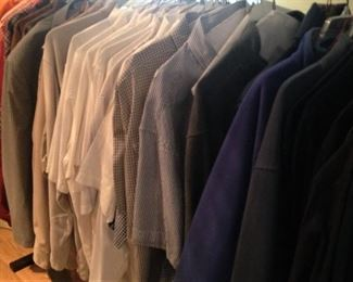 Consigned shirts - L.L. Bean, Ralph Lauren, Magellan, Orvis, Land's End, and others (size - most are 2X)