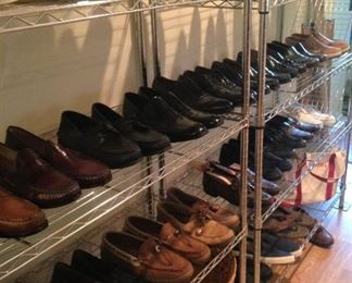 Consigned men's shoes are size 13.
