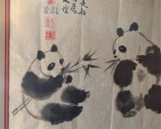 Panda bears from China