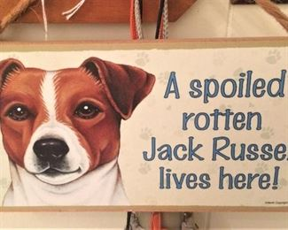 Jack Russell sign